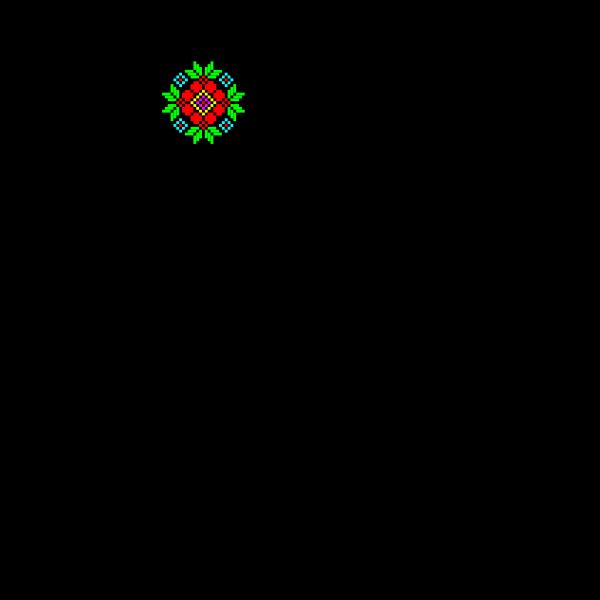 Textile decoration pattern