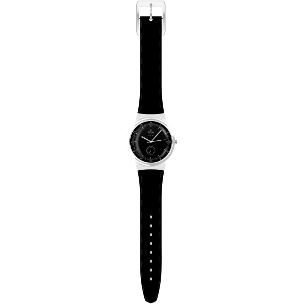 Hand watch vector drawing