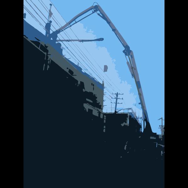 Big Ass Concrete Pump
