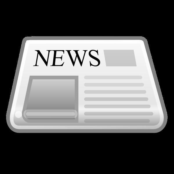 Internet news reader icon vector illustration