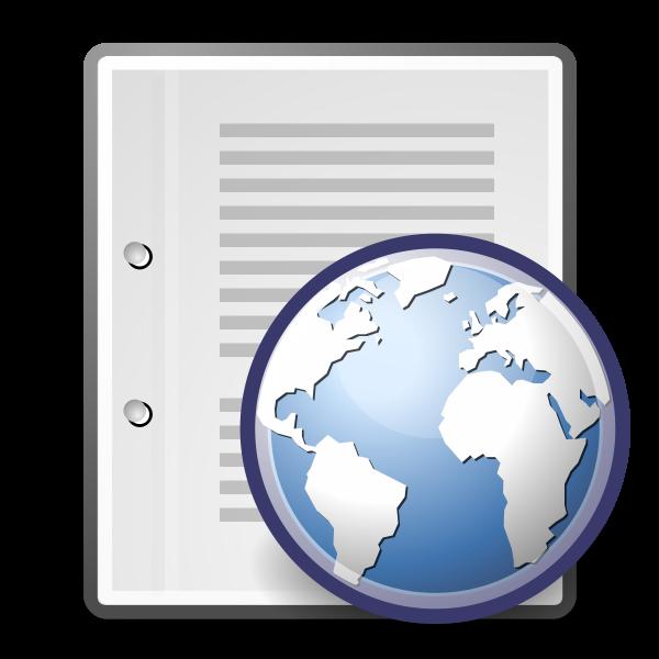 Network server vector icon