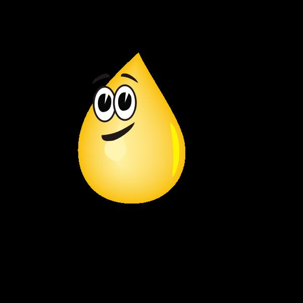 Oil droplet vector graphics
