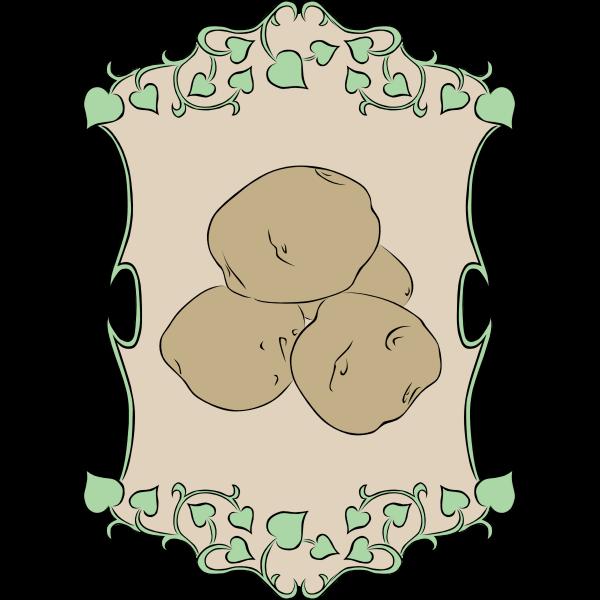 Garden Sign Potatos