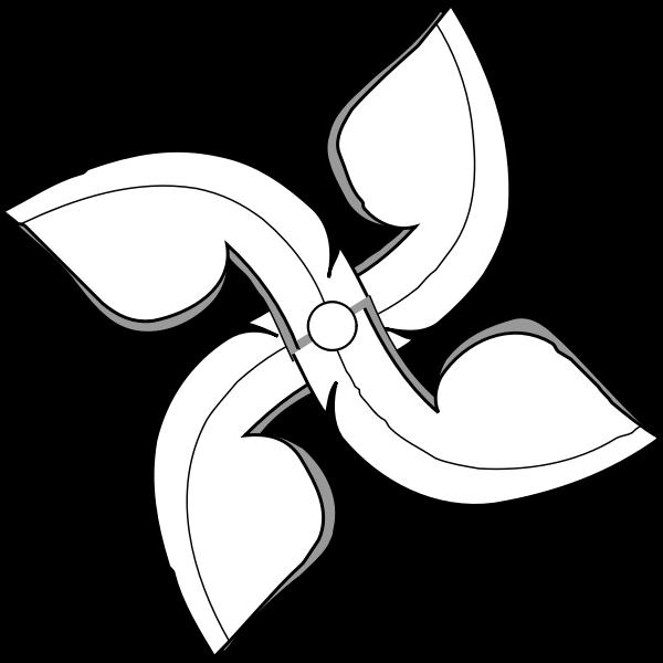 Thai ceiling fan vector image