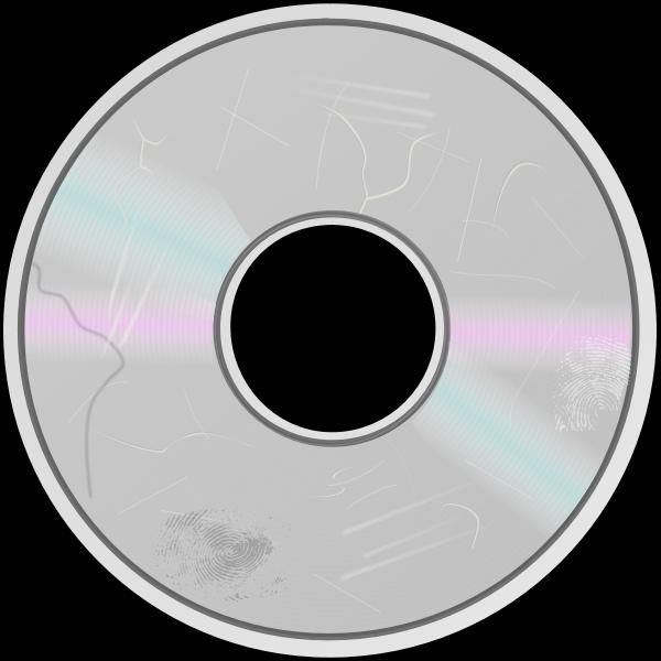 DVD disc symbol