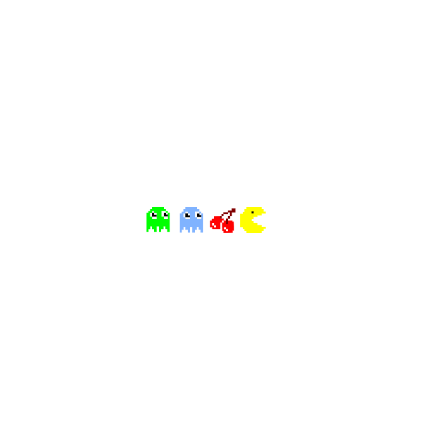 Pacman. Square