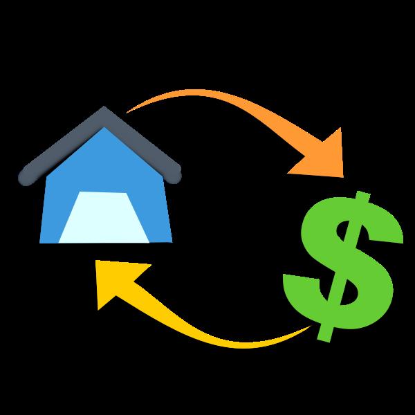 Mortgage graphic concept