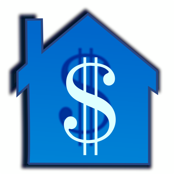 Home price vector image