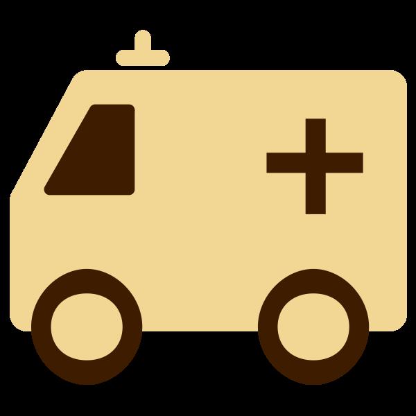 Ambulance vector clipart