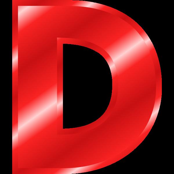 Letter ''D''