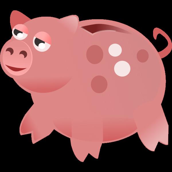 Piggy Bank Vector Art
