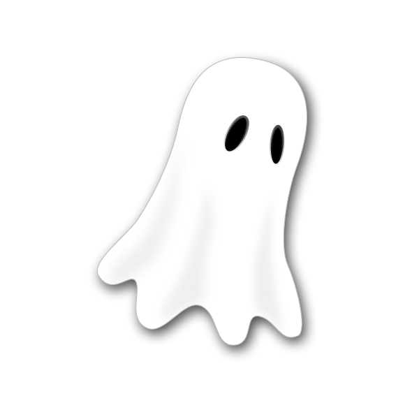Ghost mask vector image