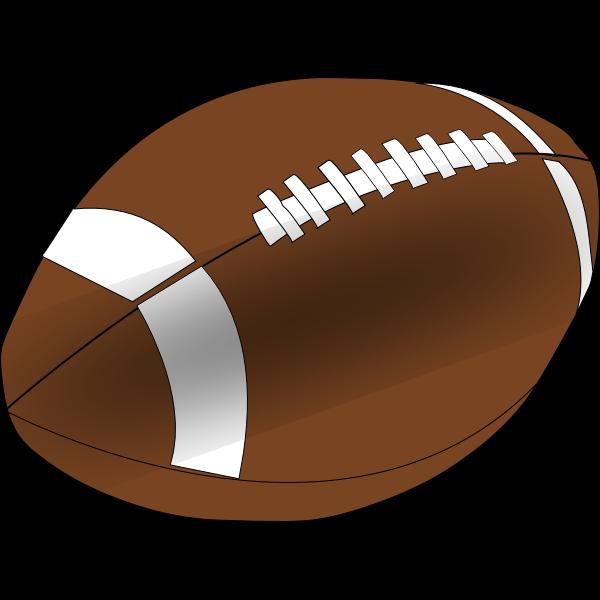 American Football Vector Clip Art