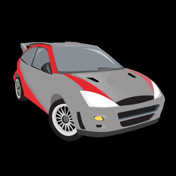 Vector illustration of sport car