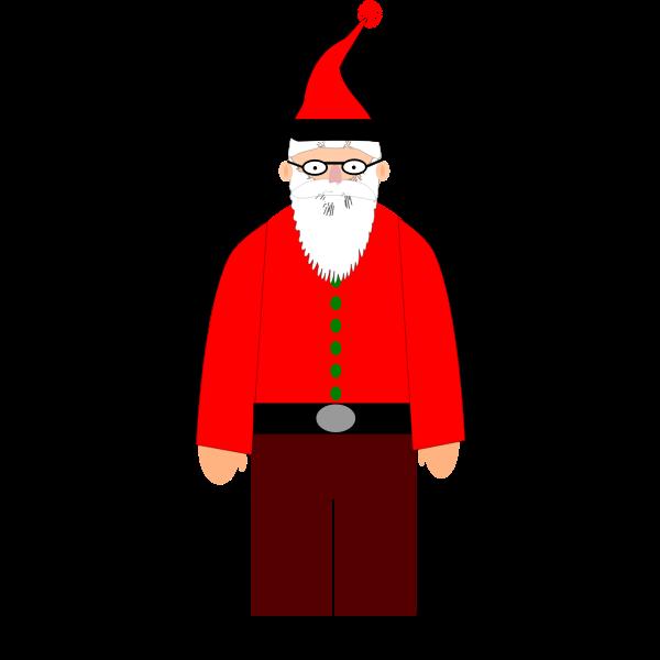 Santa Claus Vector Art