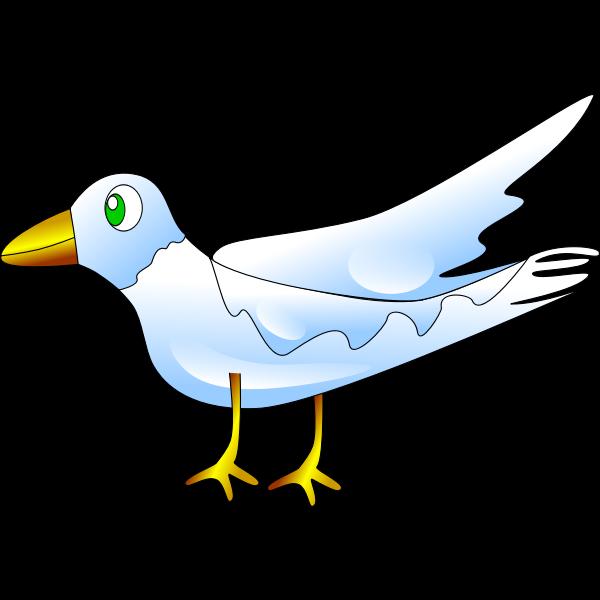 Kid's book bird drawing