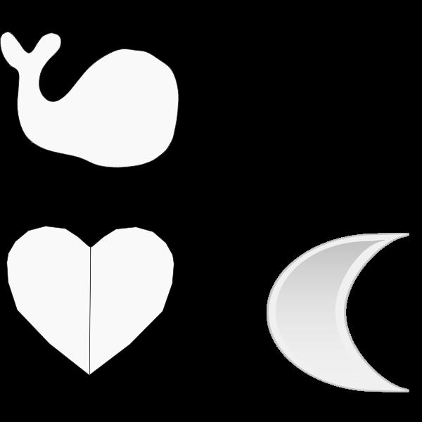 Simple geometric shapes