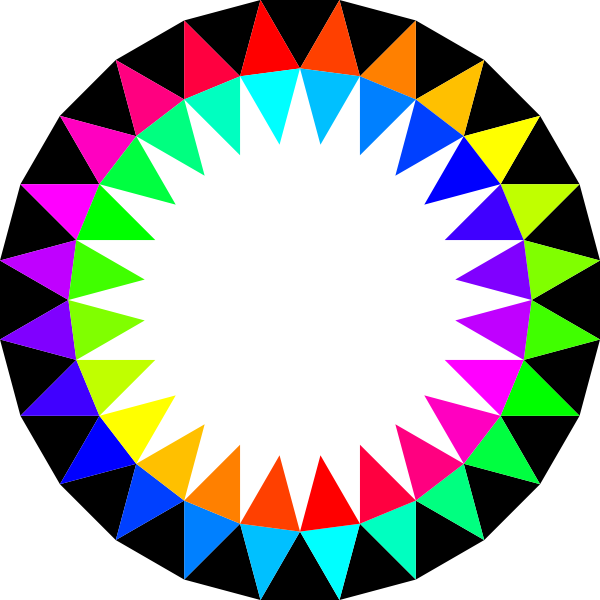 rainbow 24gon