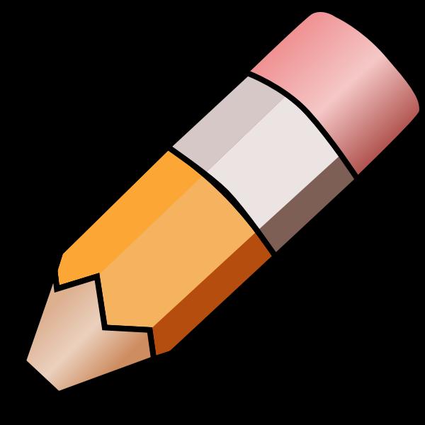 HB pencil vector image