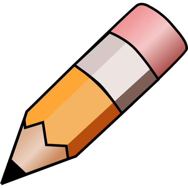HB pencil vector image