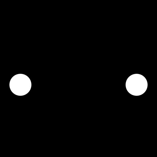 Car icon vector clip art