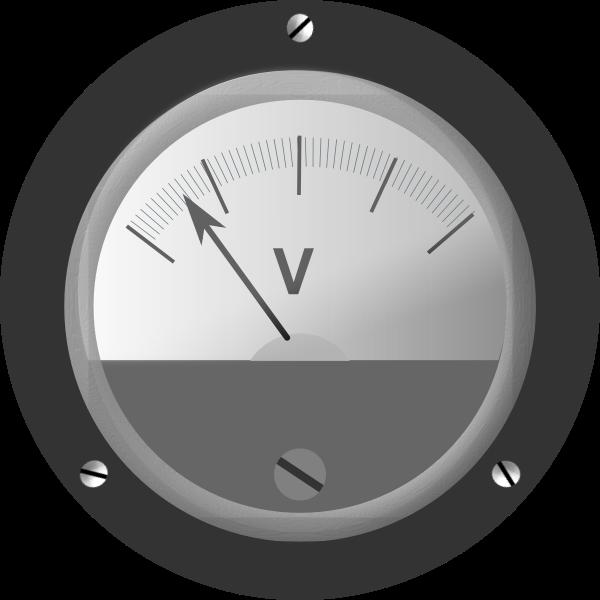 Bakelite Voltmeter