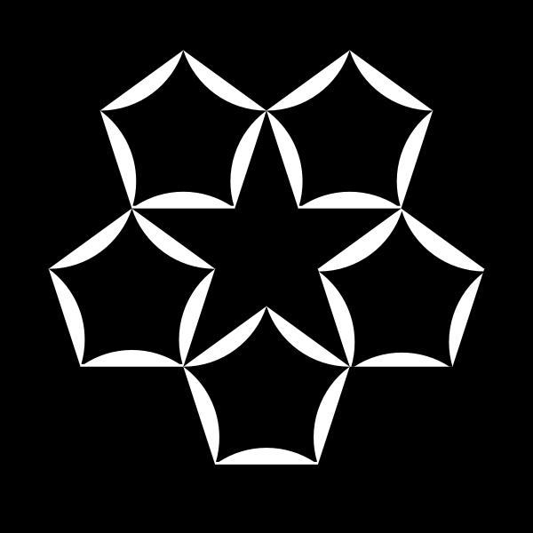 round pentagons