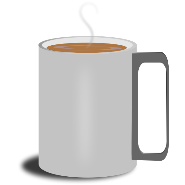 Mug with coffee