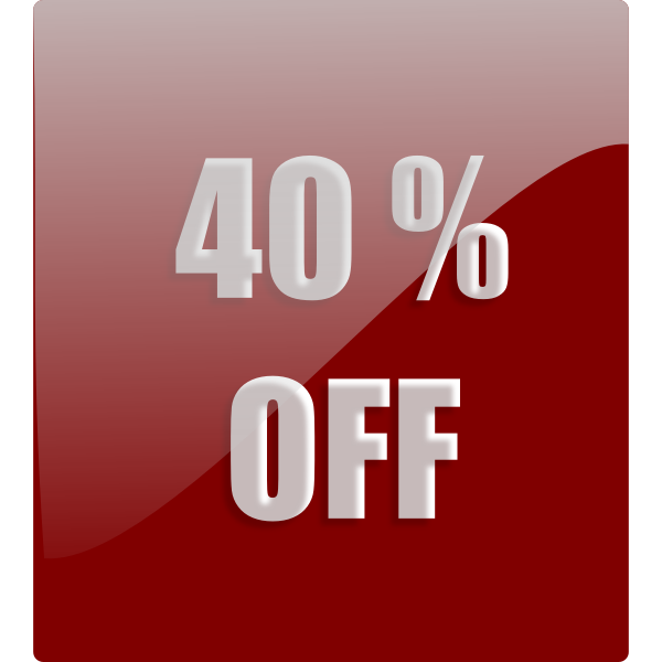 Discount Label Vector Clip Art