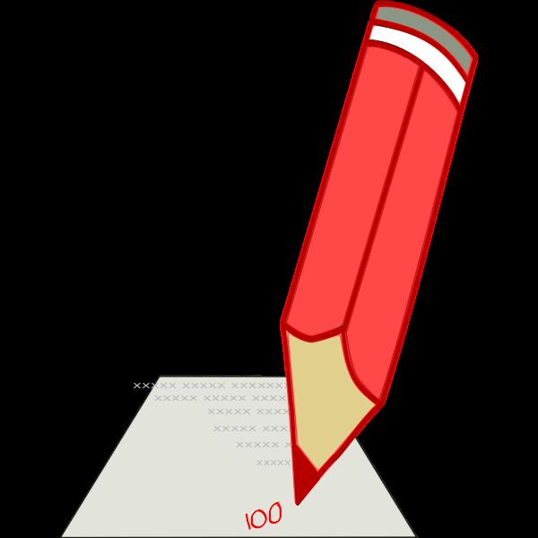 Graphite pencil vector illustration