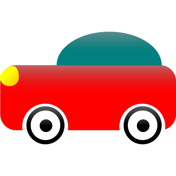 Toy car vector illustration