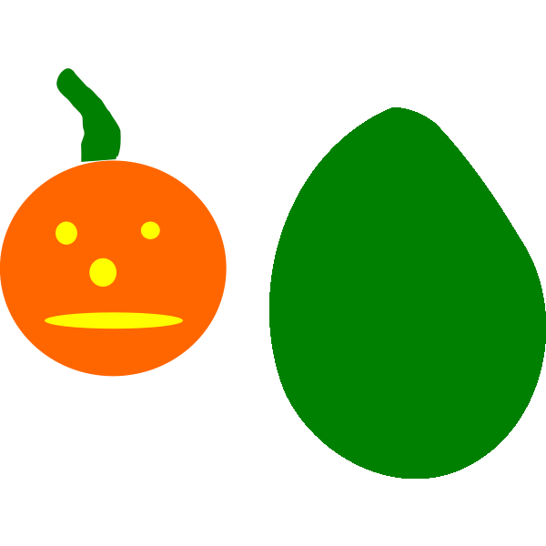 Pumpkin cartoon drawing art