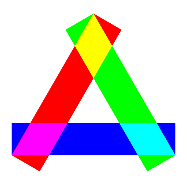 Long rectangles triangle