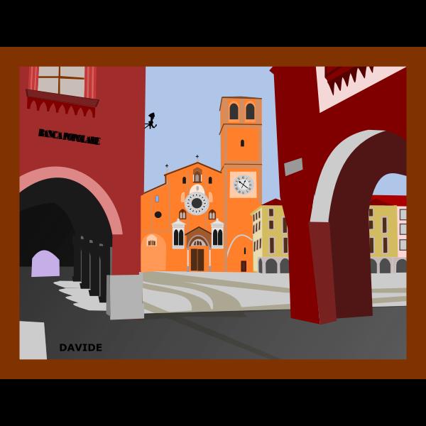 Piazza della Vittoria - Lodi - Italia