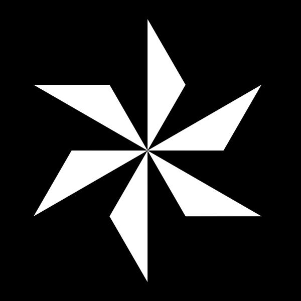 Hexagram shape