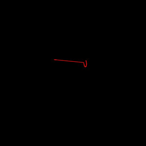 Kabel door Muur