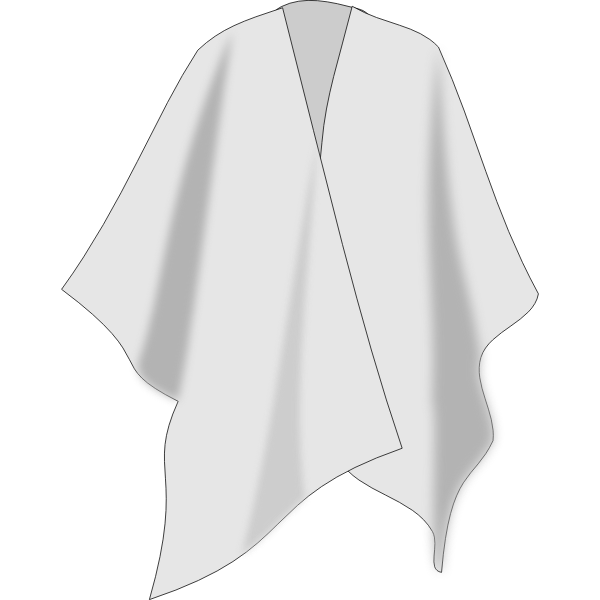 Colombian poncho vector image