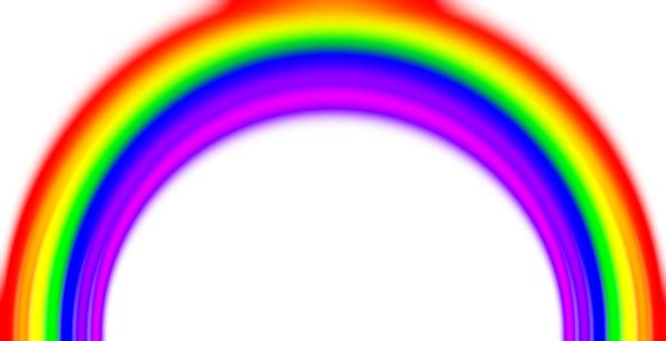 Simple Rainbow with Blur