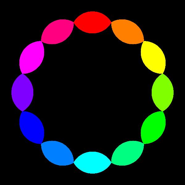 12 Football Rainbow Vector Illustration Free Svg