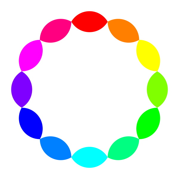 12 football rainbow vector illustration