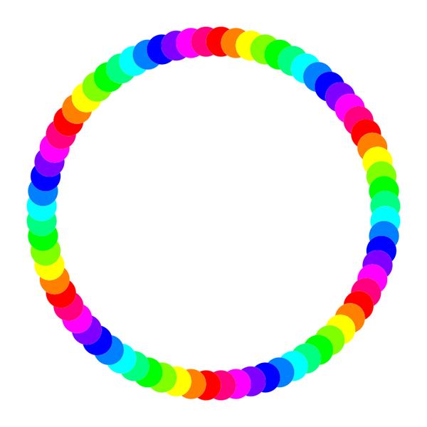 72 circle ring