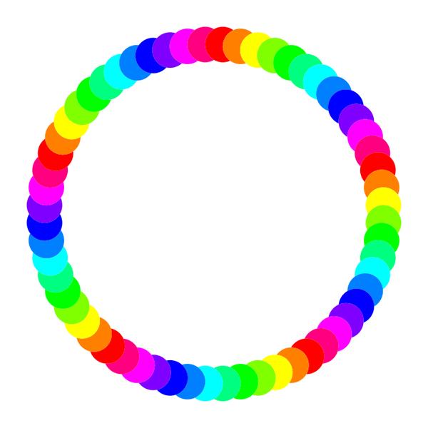 60 circle ring
