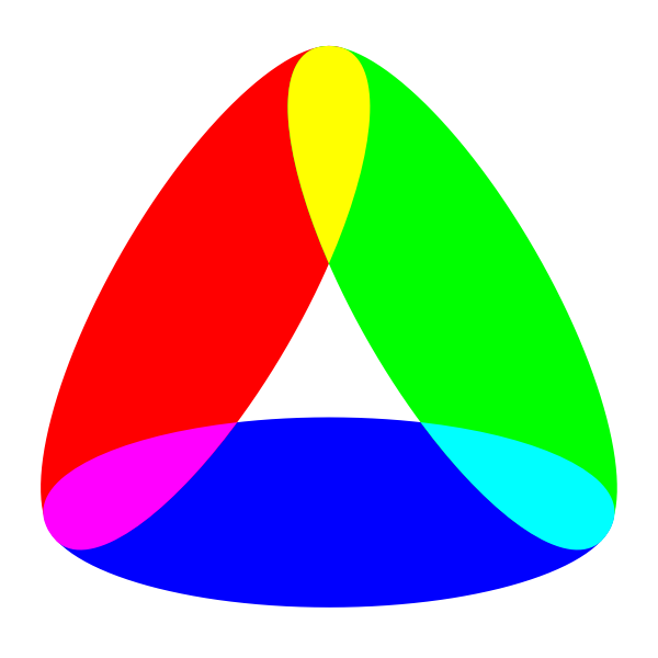 Triangle in many colors