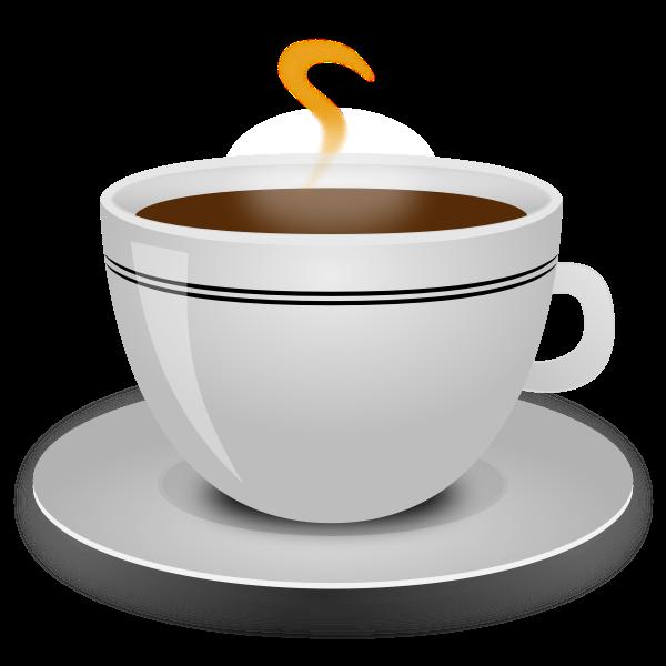 Coffee cup vector clip art