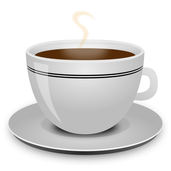 Coffee cup vector clip art