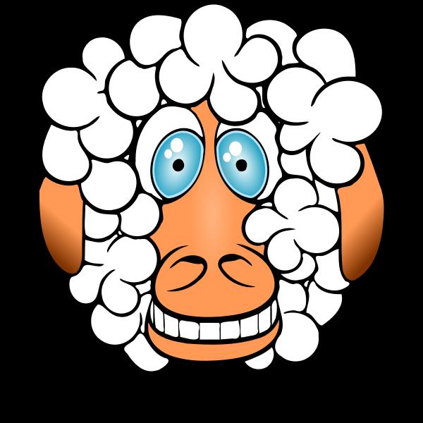 Comic sheep