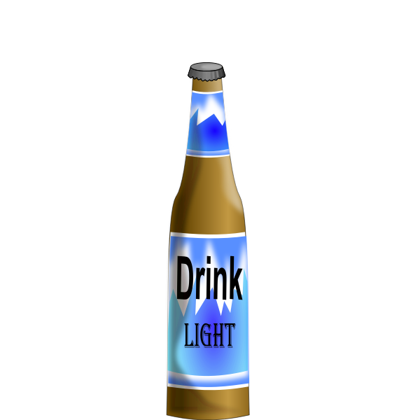 Bottle of beer vector clip art