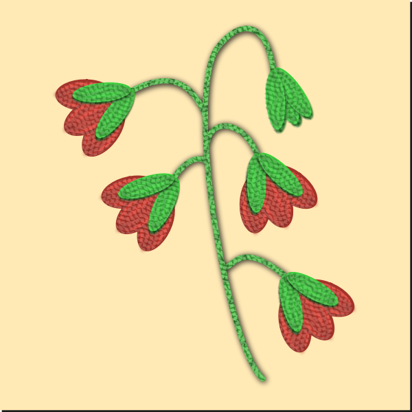 Embroidered Flower