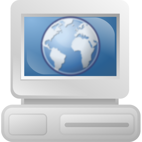Web user icon vector image