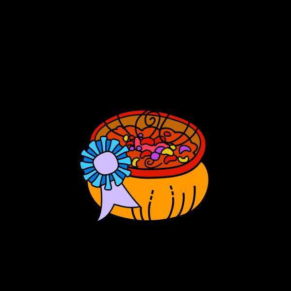 Bowl of chili vector image